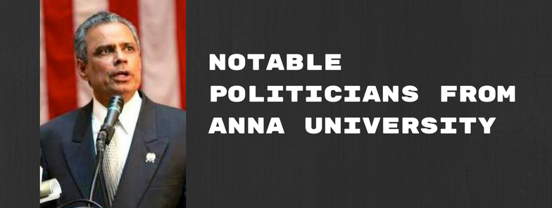 politicians from anna university