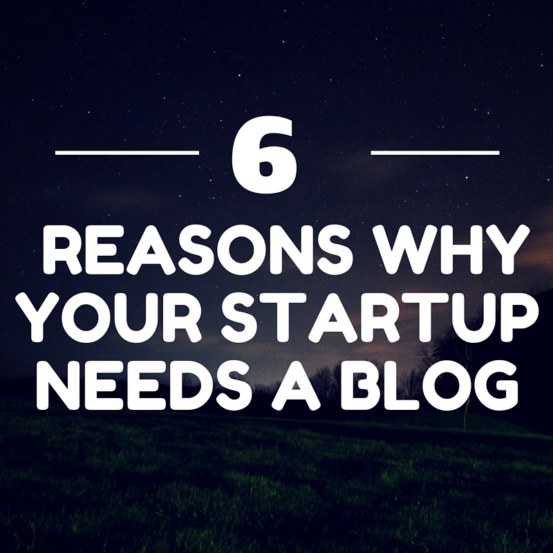 your startup needs blog