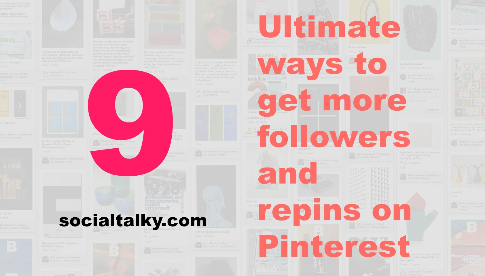 How to get more repins and followers on Pinterest
