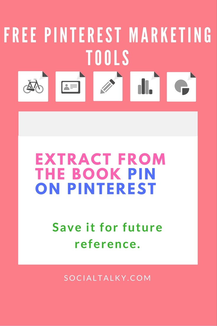 Free Pinterest marketing tools for personal and business use