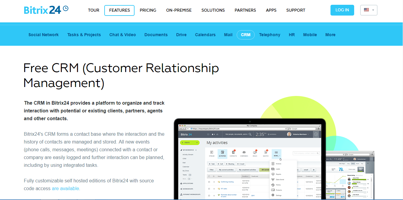 free crm software
