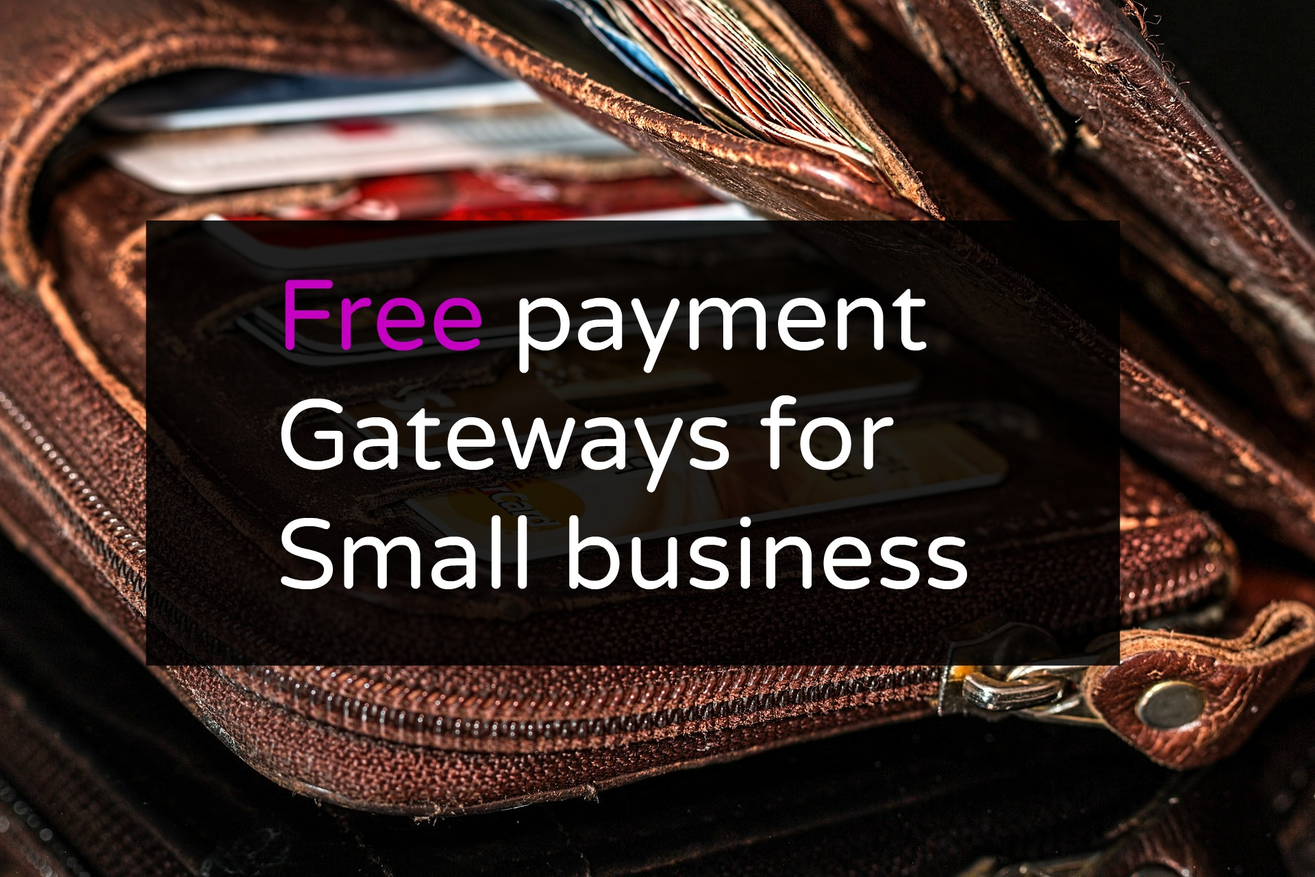 free payment gateways