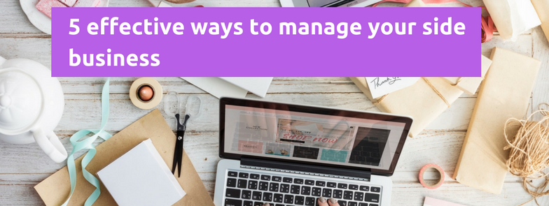 manage your side business