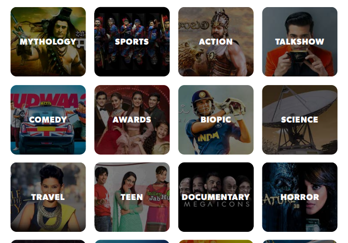 Hotstar USA Shows List
