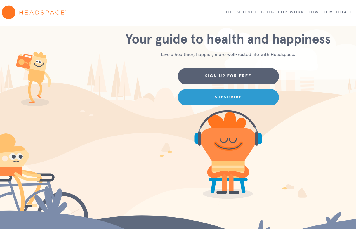 Most Useful Websites on Internet - headspace
