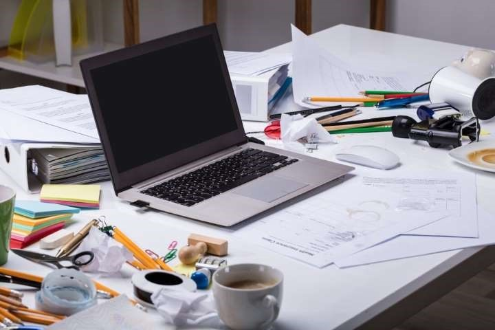Get rid of your messy desk and workspace